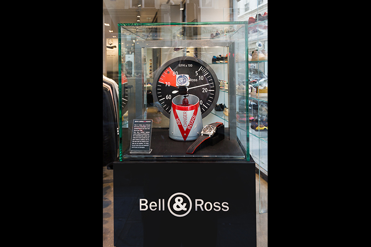boutique colette Bell & Ross 3 Luxury design