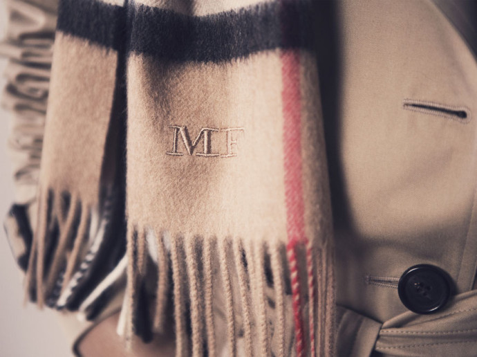 Burberry personnalisation 2
