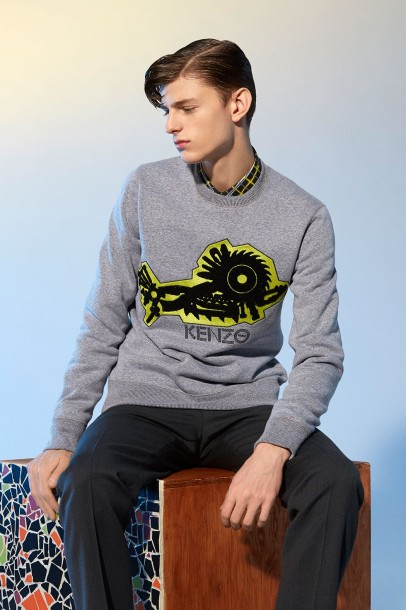 Pop-up Store Kenzo Haussmann Sweat-shirts Collection Hommes