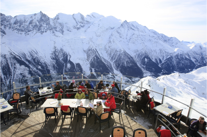 Restaurant Le Panoramique Chamonix France