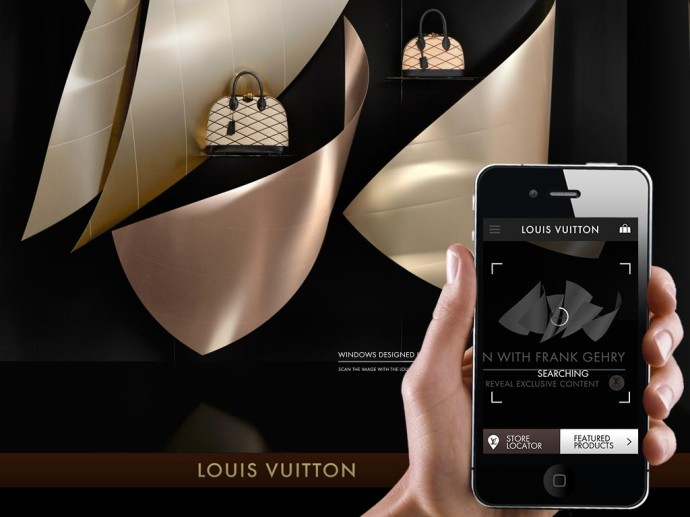 Vitrine Louis Vuitton PASS - Architecte Franck GEHRI