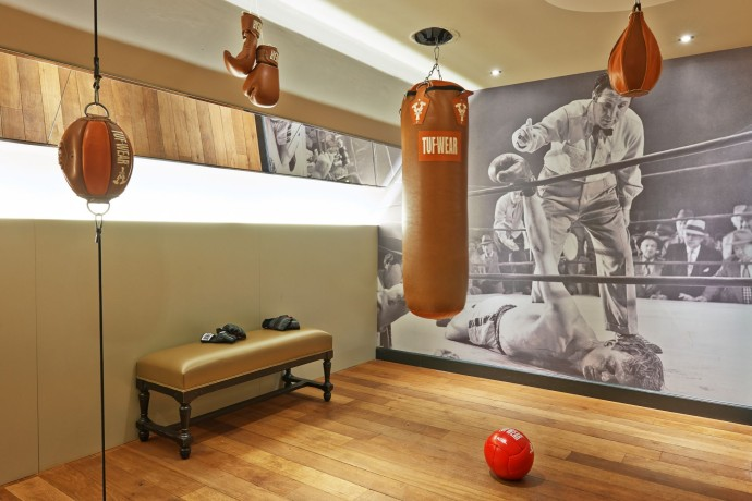 Boxing room Dominican Hotel