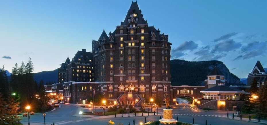 Chateau Hotel Golf Fairmont Banff Springs au Canada