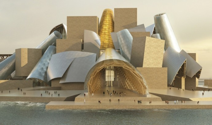 Frank Gehry Architecture guggenheim abu dhabi