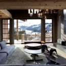 Le Collectionist Chalet Eugenia Cyanella_Megève_Salon_3