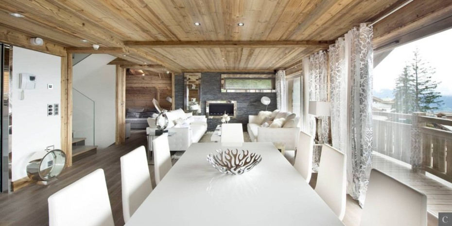 Le collectionist Chalet Eden dining-room