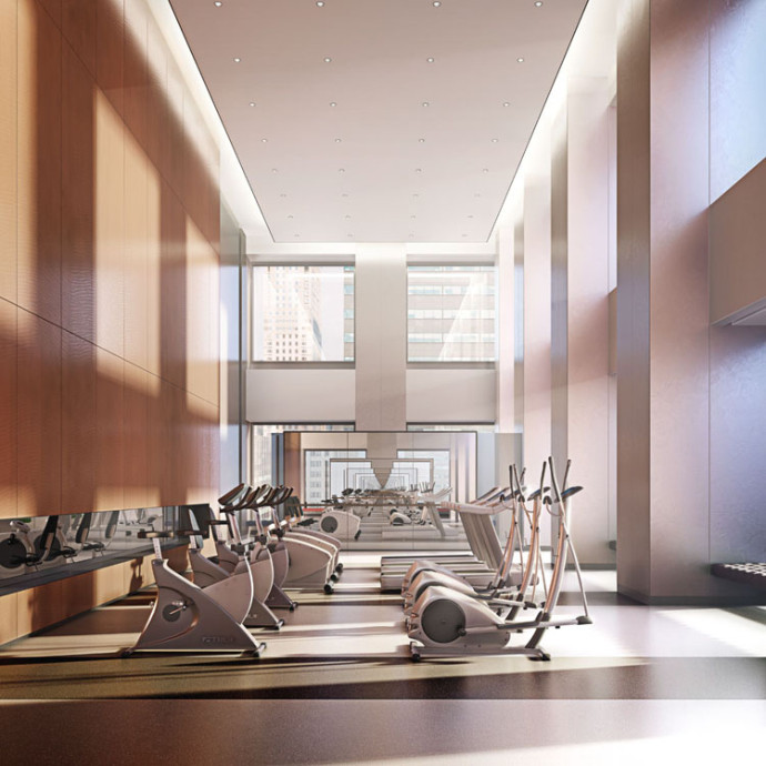 Gym 432 Park avenue appartement new york