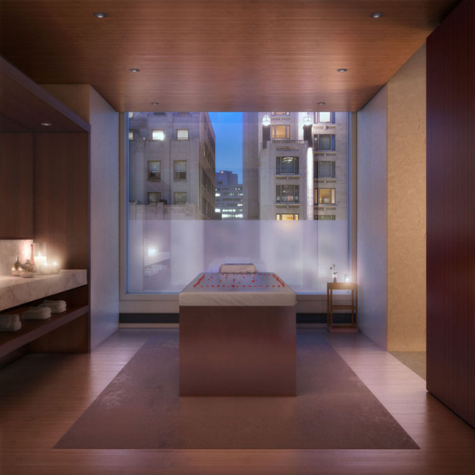Massage Therapy Room 432 Park avenue appartement new york