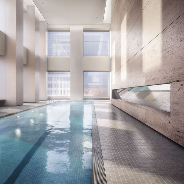 432 Park avenue appartement new york Pool