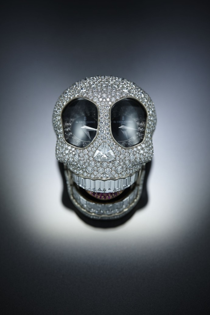 Crazy Skull de grisogono diamants