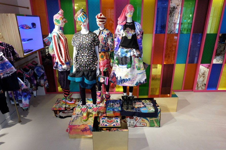 Manish Arora Flagship paris collection