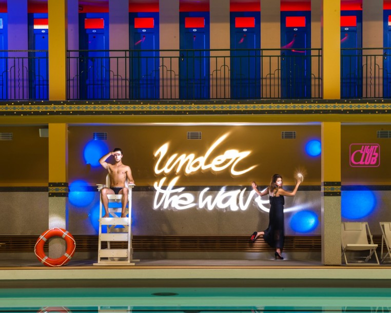 Molitor Under the wave exposition Art Contemporain UndertheWave - credit LightClub