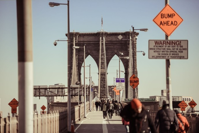 Voyage New York Brooklyn Bridge - Thomas Van Geete