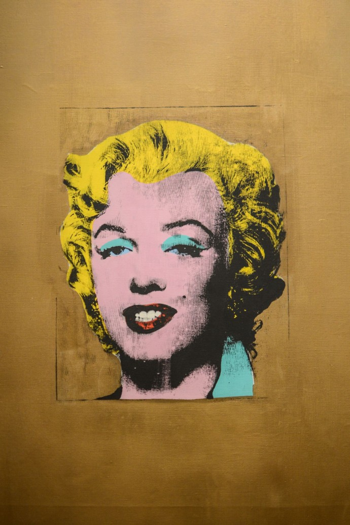 Voyage New York MOMA Art Contemporain Marilyn Monroe Thomas Van Geete
