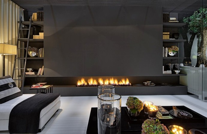 Top 20 most dazzling fireplaces ! - Luxury Design