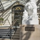 The Peninsula Paris Lion at Entrance
