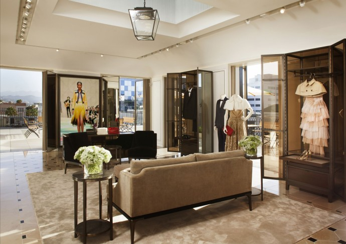 Burberry Flagship rodeo drive penthouse
