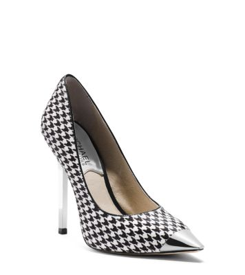 Escarpins Zady houndstooth hair calf pump Michael Kors
