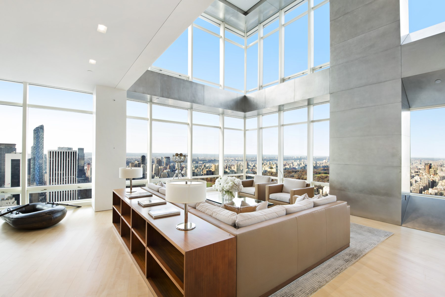 Les 20 Plus Beaux Penthouses De New York