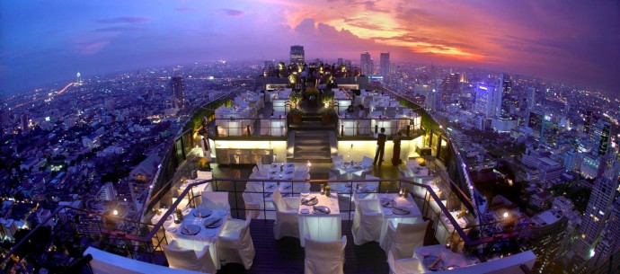 Vertigo Moon bar Banyan Tree Bangkok