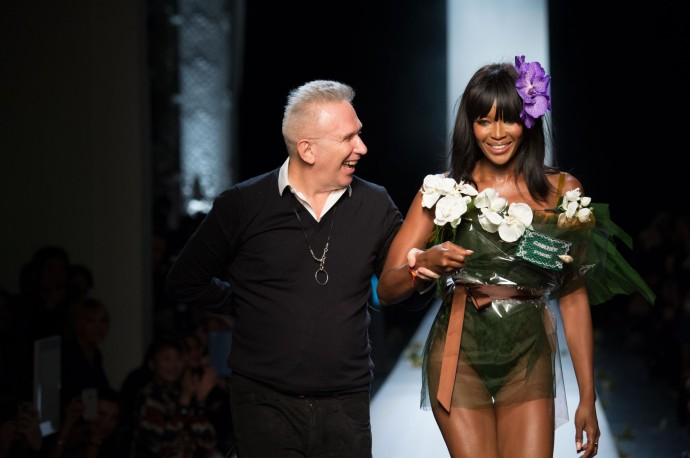 fashion week 2015 Jean Paul Gaultier final