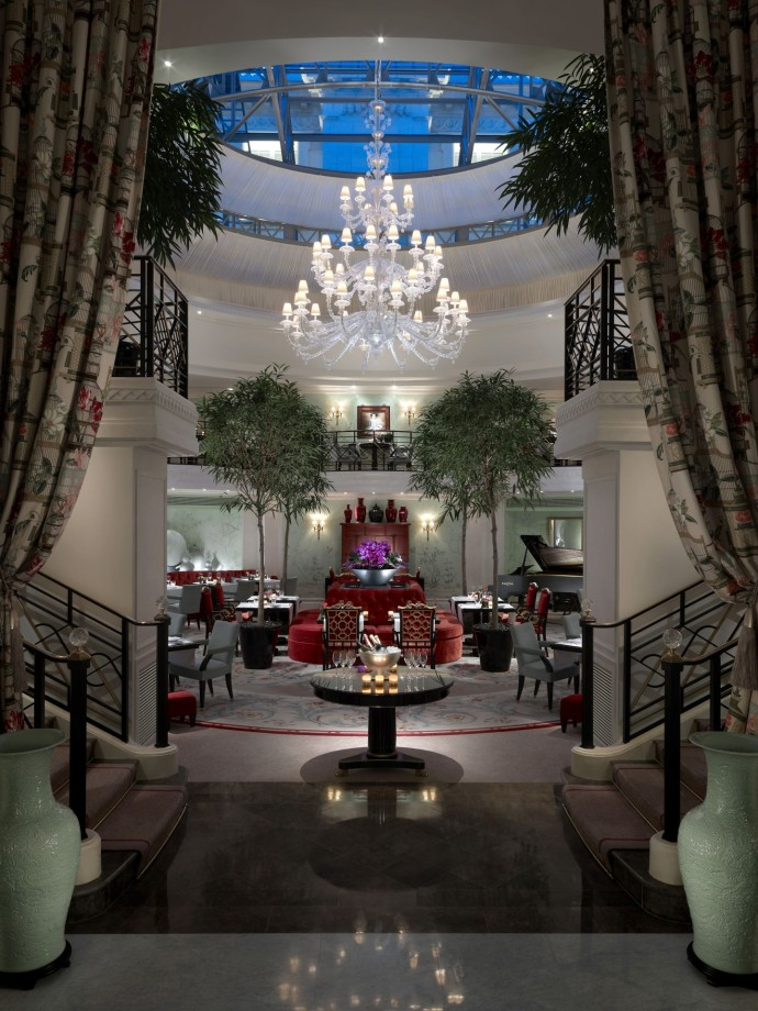 Restaurant La Bauhinia - Night - Shangri-La Hotel Paris