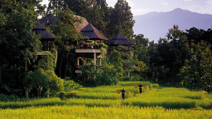 Four Seasons Private Jet hotel chiang mai