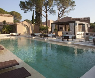 Muse hotel luxe saint tropez swimming pool