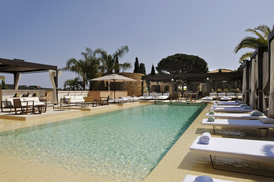 Muse saint tropez swimming pool