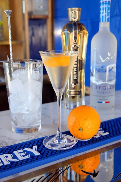 Vodka Grey Goose cocktail