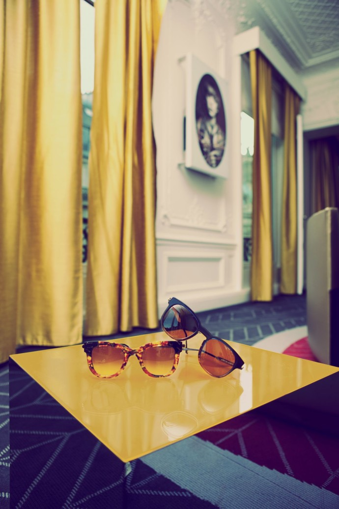 W Paris Opera Thierry Lasry SUNGLASSES IN THE EWOW
