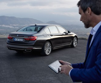 new BMW 7 Series controle