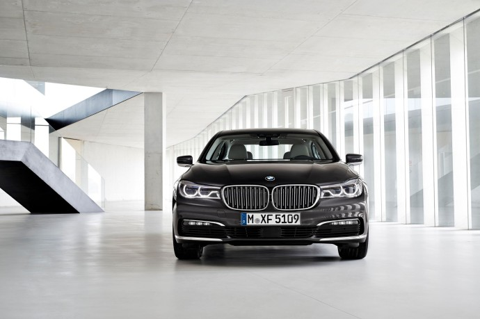 new BMW 7 Series face
