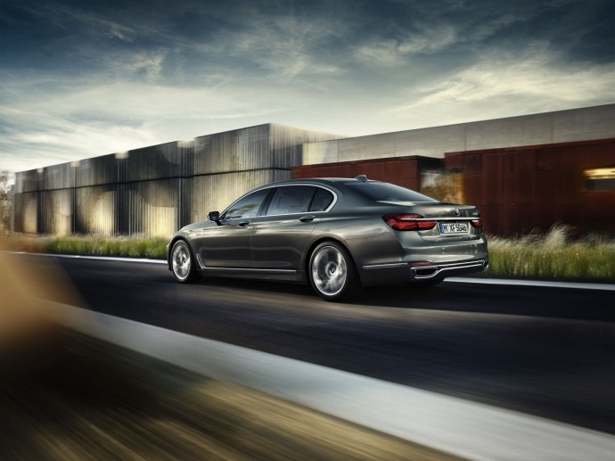 new BMW 7 Series voiture luxe