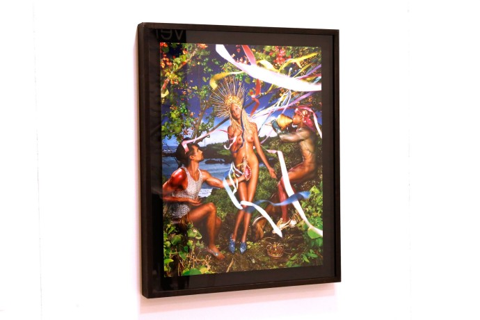 Guerlain FIAC -David LaChapelle _ Rebirth of Venus _ crédit photo Bertrand Rindoff