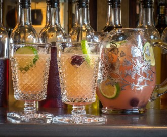Dirty french imperial planters punch