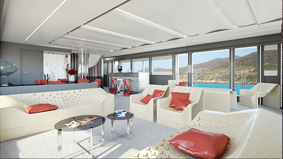 Vision of design Wider 165 Yacht