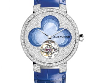 LV - Blossom Watches - Tambour Monogram Tourbillon - Packshot © Louis Vuitton - 1 sur 2