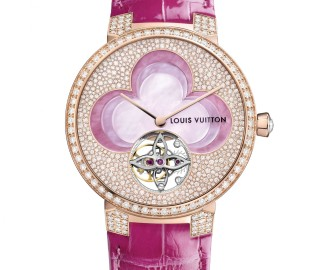 LV - Blossom Watches - Tambour Monogram Tourbillon - Packshot © Louis Vuitton - 2 sur 2