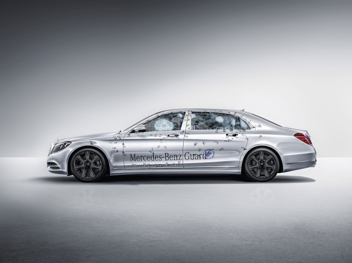 Mercedes-Maybach S 600 Guard profil