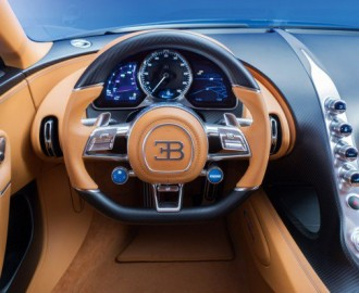 bugatti chiron supercar dashboard