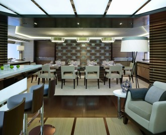 yacht design galactica star kitchen