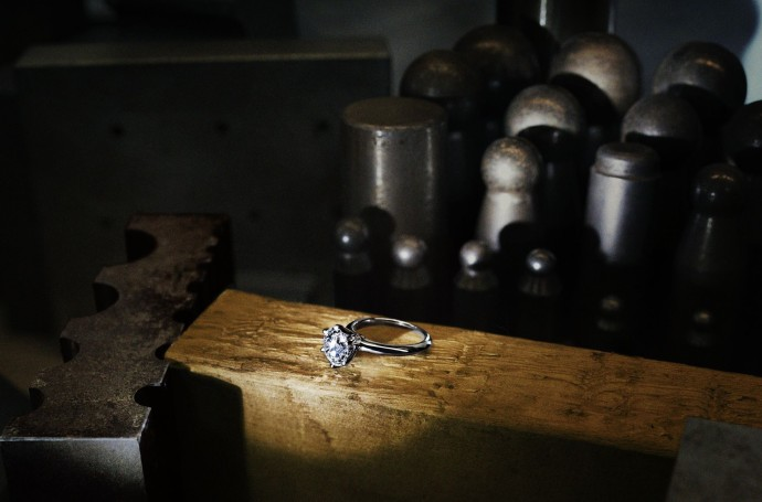 Tiffany 30th Anniversary diamond work