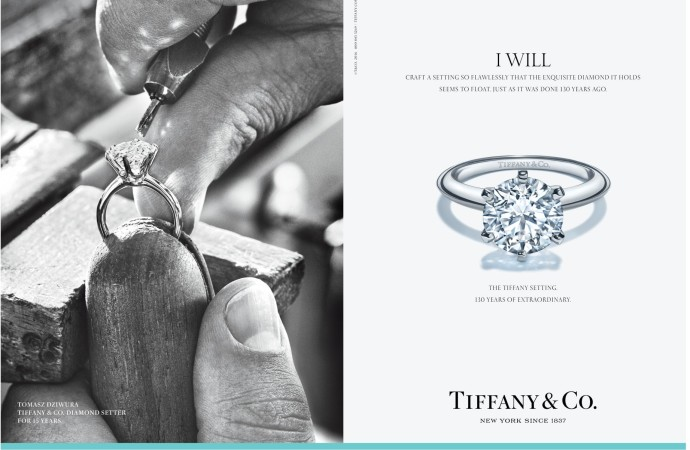 Tiffany Ad for the 130th
