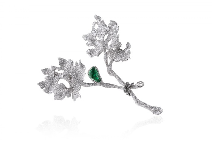 broche Haute Joaillerie Cindy Chao The Art Jewel - Four Seasons Collection