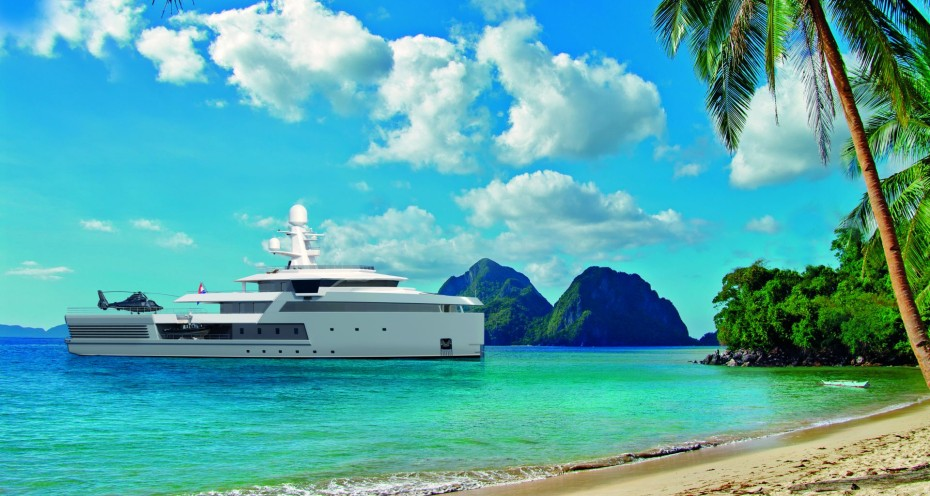 yacht SeaXplorer 65m Tropical Palm Beach