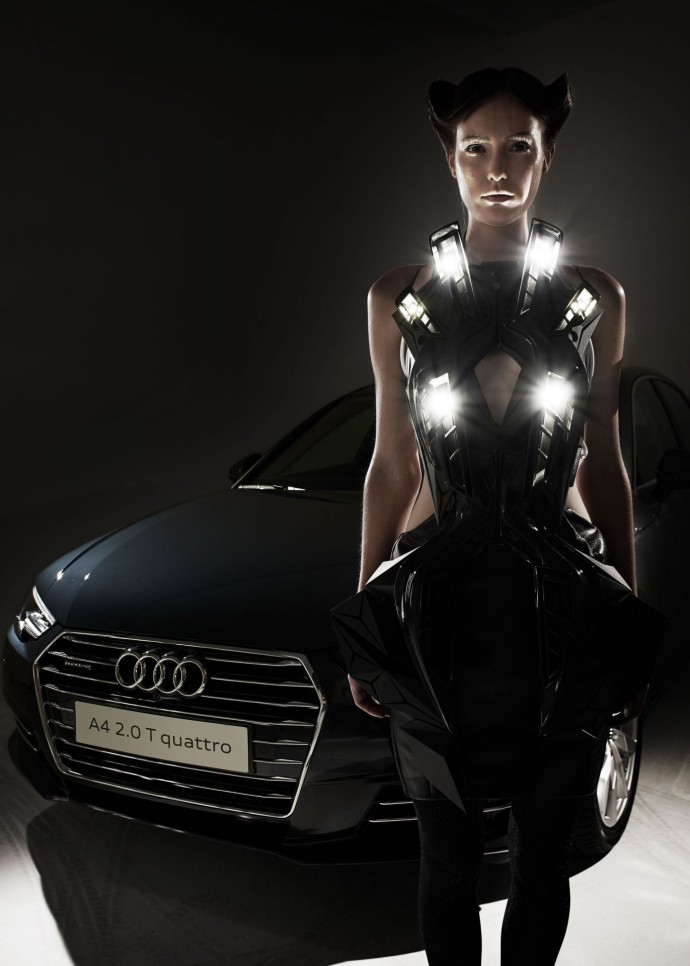 Anouk Wipprecht Audi A4 Fashion Tech vetement