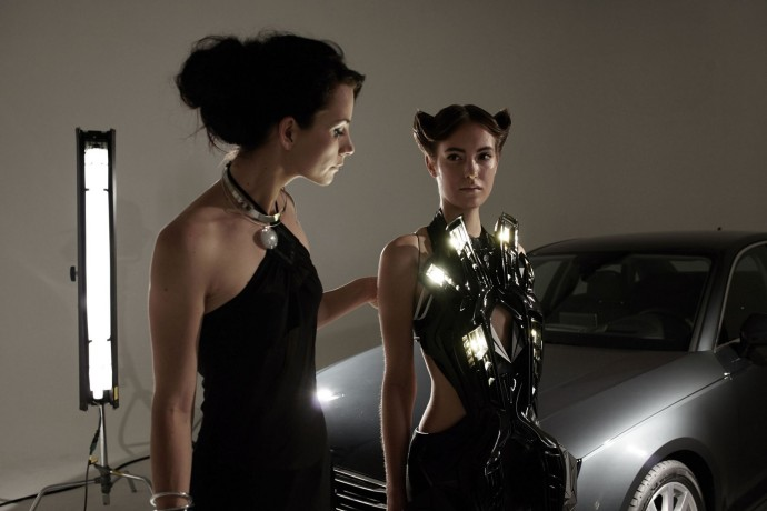 Anouk Wipprecht Audi A4 Fashion Tech_7