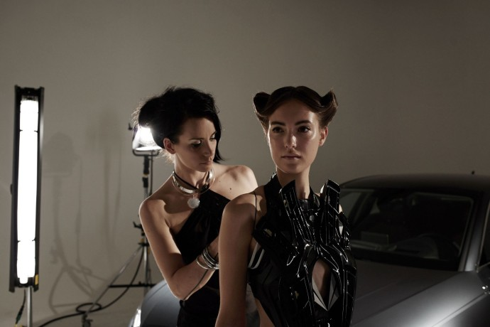 Anouk Wipprecht Audi A4 Fashion-Tech_8