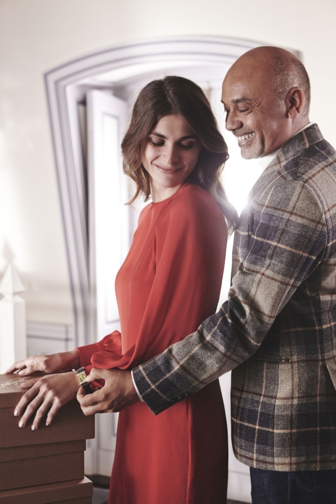Behind the scenes Reverso by Christian Louboutin film - dress Martin Grant ∏ Roch Armando